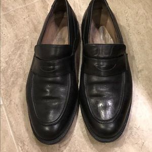 Johnston and Murphy penny loafers